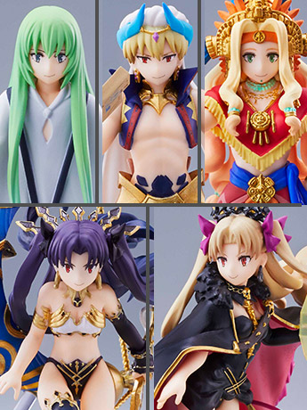 Fate/Grand Order Duel Collection Figure Wave 10 Box of 6 Figures