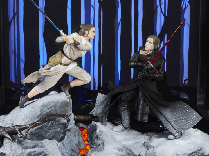 Star Wars The Black Series Centerpiece Rey Starkiller Base Action Figures