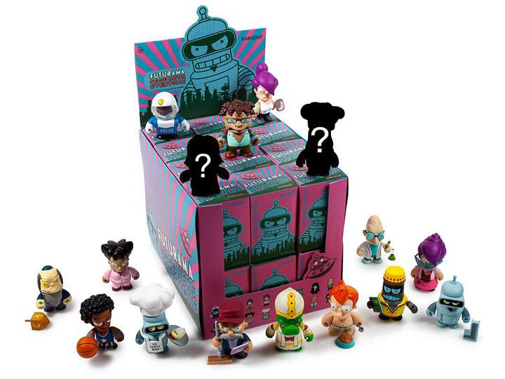 "URL Futurama x Kidrobot Good News Everyone Series 3/"" Vinyl Figure"