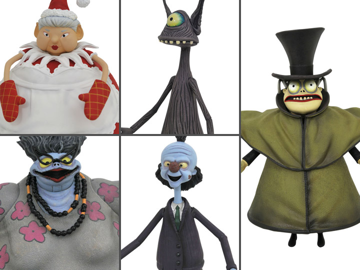 The Nightmare Before Christmas Select Series Wave 10 Set Of 5 Figures But now i will give presents, and i will spread cheer. the nightmare before christmas select
