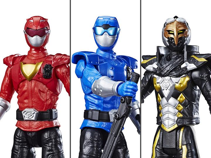 POWER Rangers BESTIA morphers Blue Ranger 12 pollici