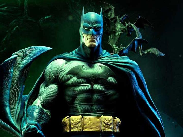 Batman Hush Museum Masterline Batman Batcave Ver 1 3 Scale Statue