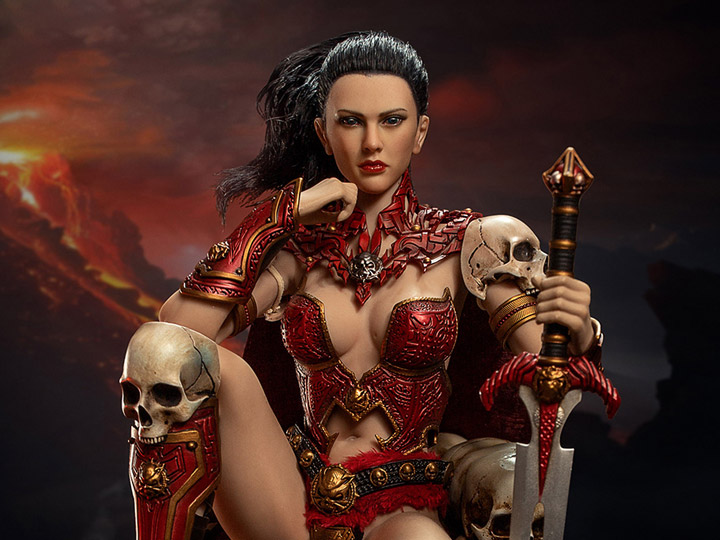 """1//6 Scale Skeleton Shield and Sword For 12/"""" Hot Toys Figure Body"""