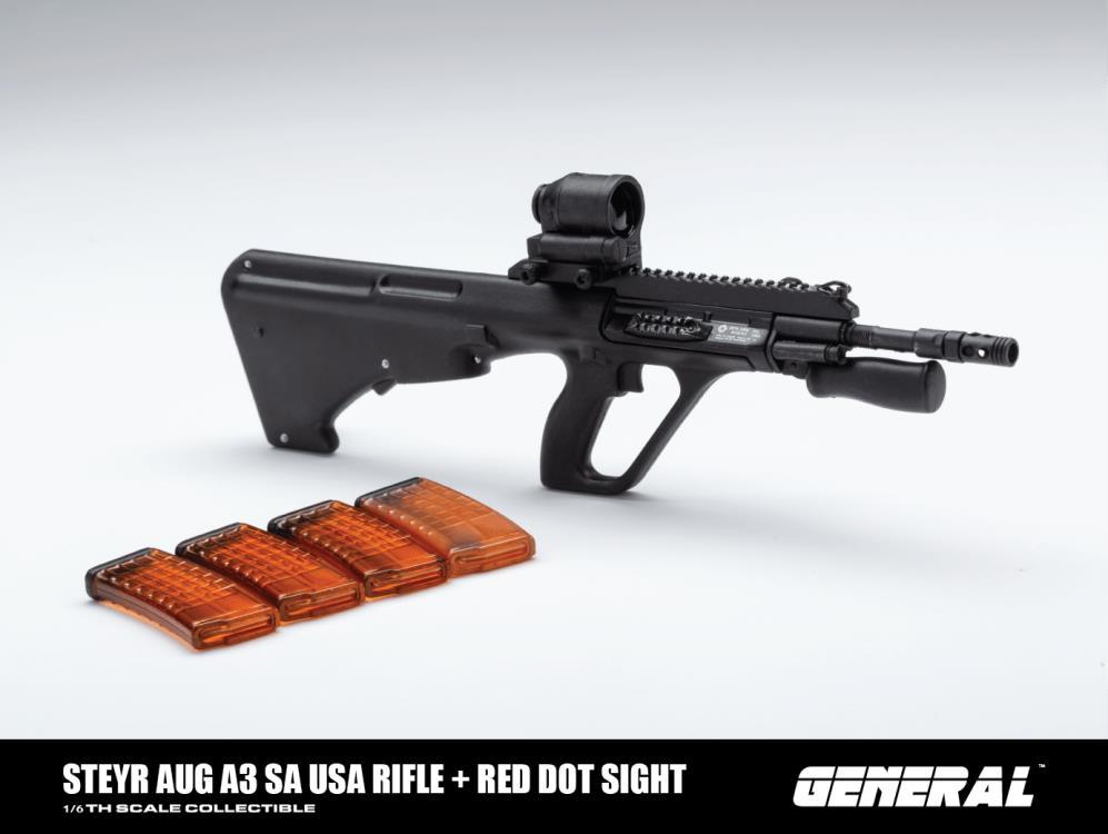 Black 1//6 Scale Toy SIGHT Rear AR Sight