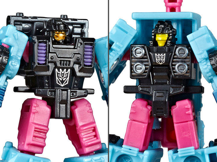 Transformers War For Cybertron Siege Micromasters Direct-Hit /& Powerpunch