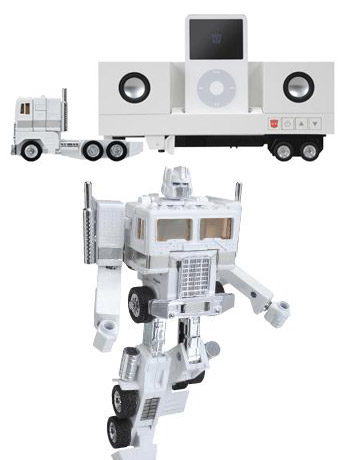 Transformers Music Label Convoy iPod Docking Bay with Speakers