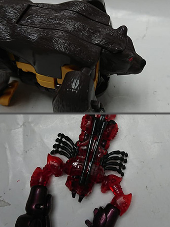 Transformers Barbearian & Double Punch 1998 BotCon Japan Exclusive Limited Edition Set