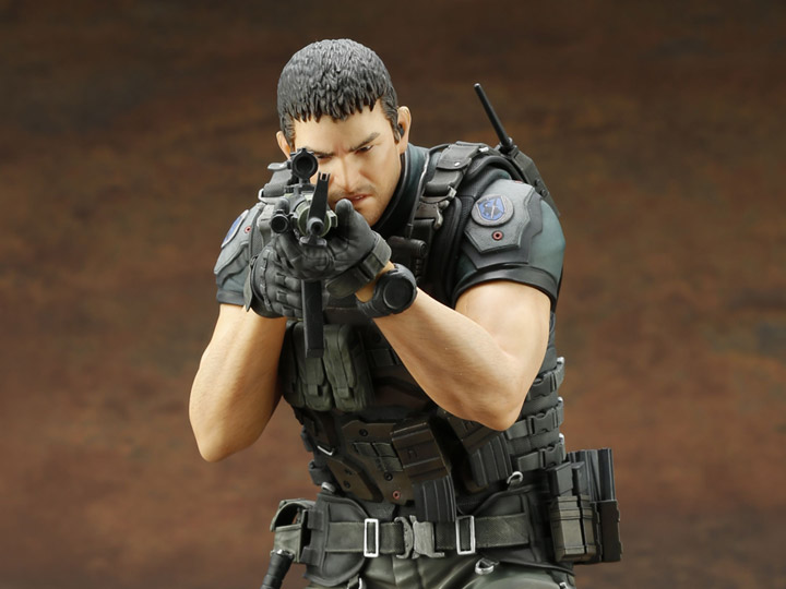 Resident Evil Vendetta Artfx Chris Redfield Statue