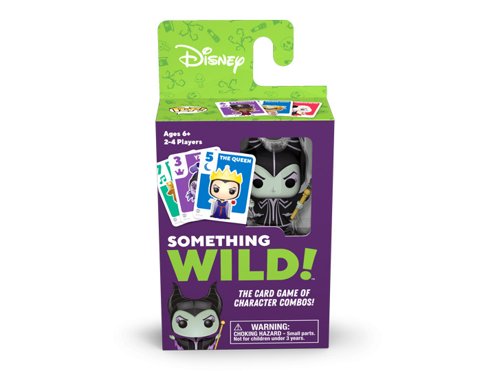 Funko Games Something Wild!™ Disney Villains Card Game #49356