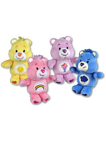 World's Smallest Care Bears Series 1 Set of 4 Plush