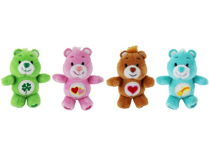 Message Recorder Stuffed Animals, World S Smallest Care Bears Series 2 Set Of 4 Plush
