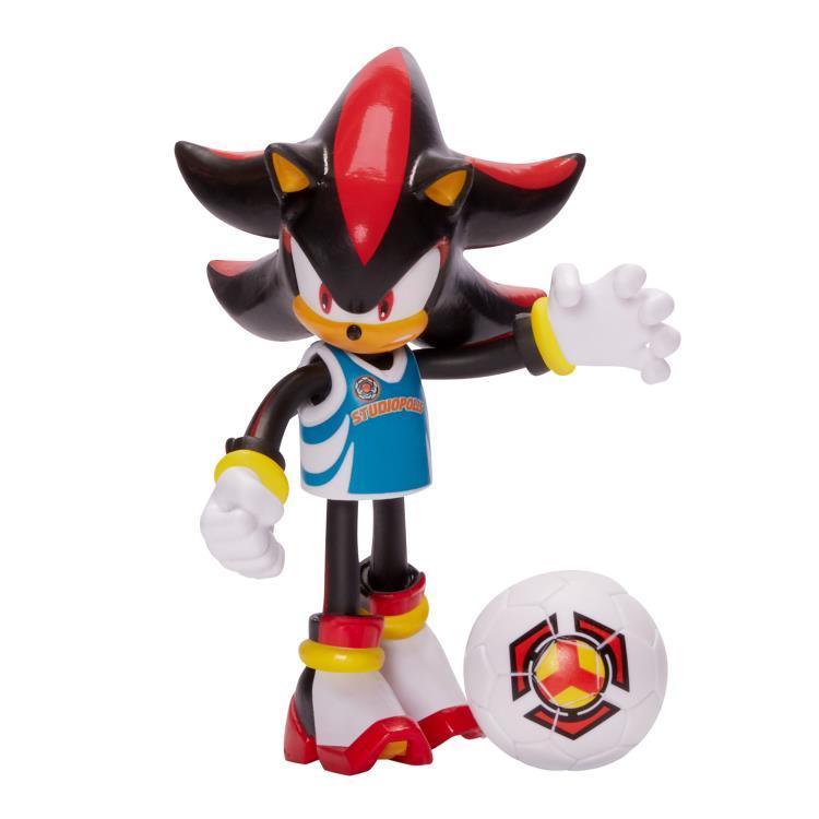 Sonic The Hedgehog 4 Basic Shadow Soccer Bendy Figure