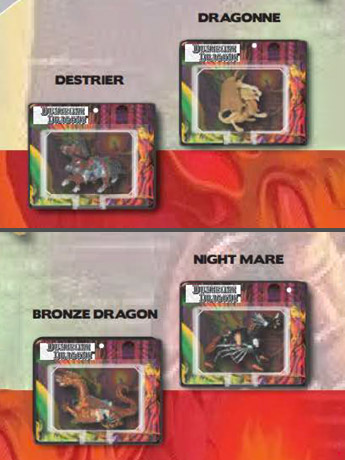 World's Smallest Dungeons & Dragons Set of 4 Micro Action Figures