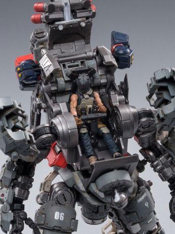 Dark Source Steelbone Heavy Combat Machine Armor (H06) With Pilot 1/24 Scale Figure Set