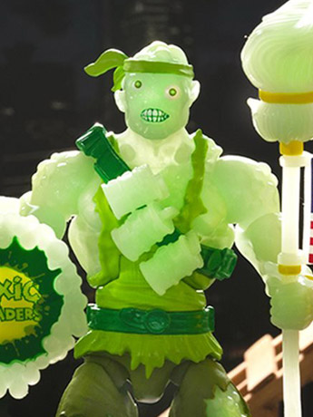 Toxic Crusaders Deluxe (Glow-in-the-Dark) Toxie Exclusive Figure