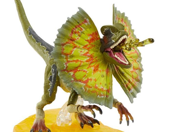 Jurassic World Ambre collection dilophosaures FIGURINE JURASSIC PARK