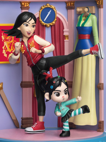 Ralph Breaks The Internet D-Stage DS-054 Mulan Statue