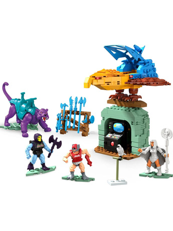 Masters of the Universe Mega Construx Probuilder Panthor at Point Dread Playset