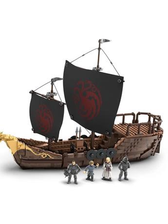 Game of Thrones Mega Construx Targaryen Warship