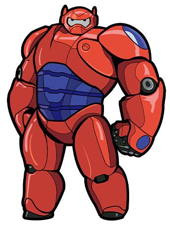 Big Hero 6 FiGPiN #406 Baymax (Armor)