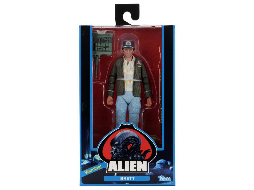 Brett 40th Anniversario Edizione poseable figura da alieno