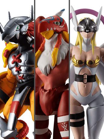 Digimon Adventure Shodo Vol.1 Box of 6 Figures
