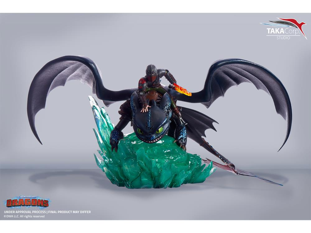 How To Train Your Dragon Hiccup Toothless 1 6 Scale Limited Edition Statue