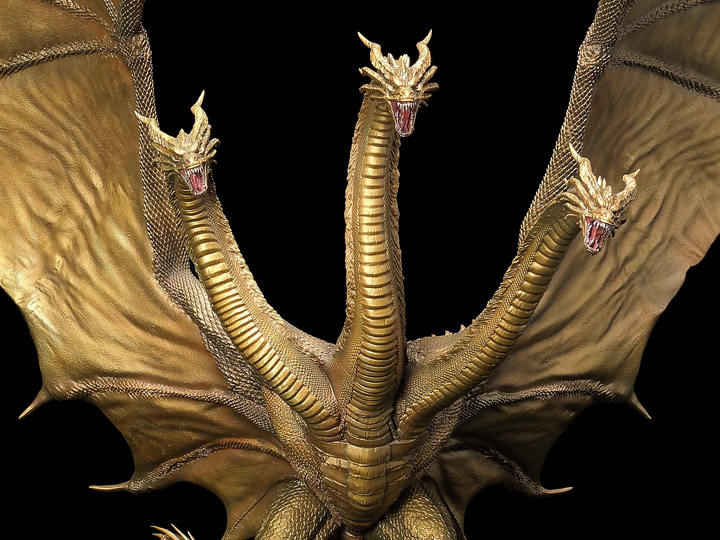 Godzilla: King of the Monsters Hyper Solid Series King Ghidorah Statue