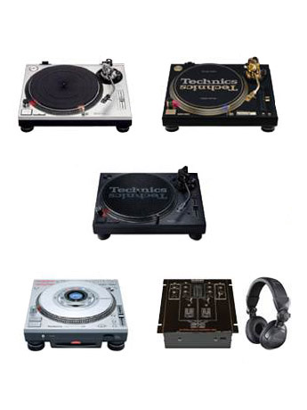 Technics Miniature Collection Ver.1 Box of 12 Accessories