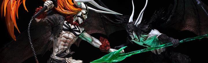 Bleach Elite Fandom Ichigo vs. Ulquiorra Limited Edition Statue