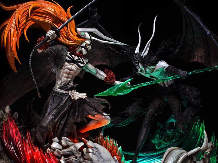 Bleach Elite Fandom Ichigo Vs Ulquiorra Limited Edition Statue