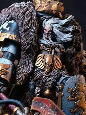 Warhammer 40k Logan Grimnar 1/6 LE Statue