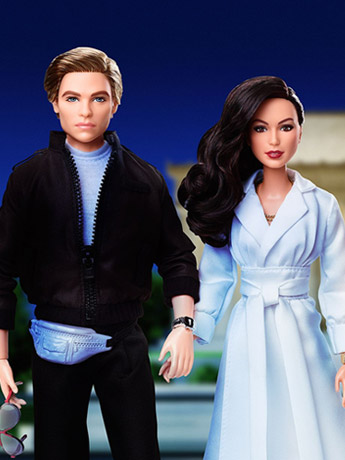 Wonder Woman 1984 Diana Prince & Steve Trevor Barbie Doll Two-Pack