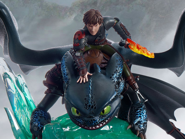 How to Train Your Dragon Hiccup & Toothless 1/6 Scale Limited Edition Statue