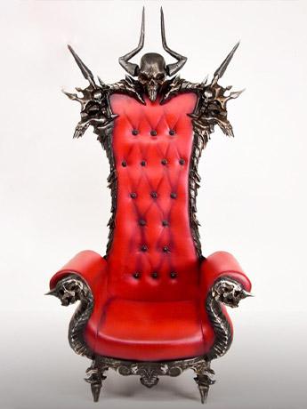 Skull Throne 1/6 Scale Accessory