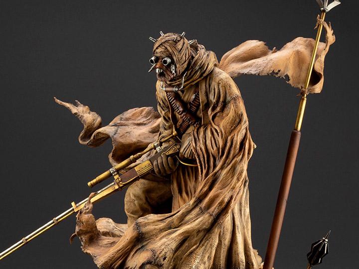 Star Wars ArtFX Artist Series Tusken Raider (Barbaric Desert Tribe) Statue