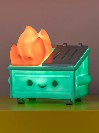 Lil Dumpster Fire Night Light