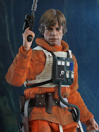 Star Wars: The Empire Strikes Back 40th Anniversary MMS585 Luke Skywalker 1/6 Scale Collectible Figure