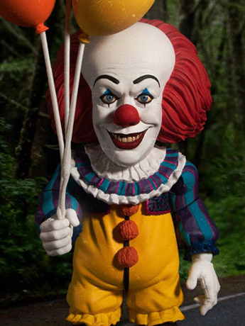 IT (1990) Mezco Designer Series Deluxe Pennywise