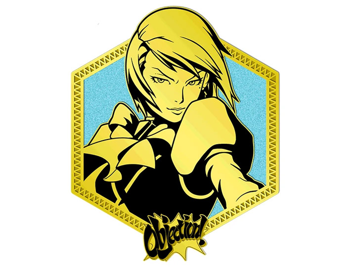 Ace Attorney Golden Series Franziska Von Karma Enamel Pin Franziska von karma, known in japan as mei karuma (japanese: usd
