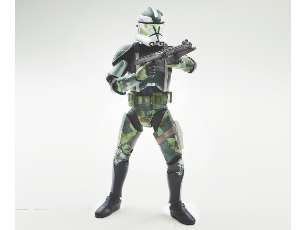 """Star Wars Black Series Exclusive CLONE COMMANDER GREE 6"""" 15cm AF Ep III RotS"""