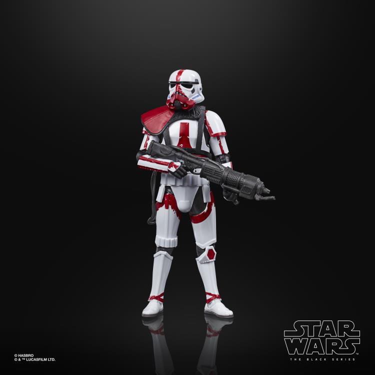 "Star Wars: The Black Series 6"" Incinerator Trooper (The Mandalorian) Figure Gallery Image 2"