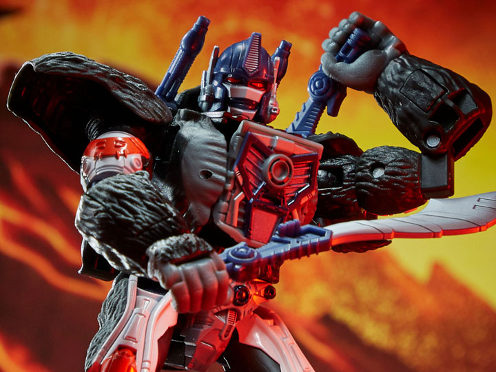 Transformers War for Cybertron: Kingdom Voyager Optimus Primal