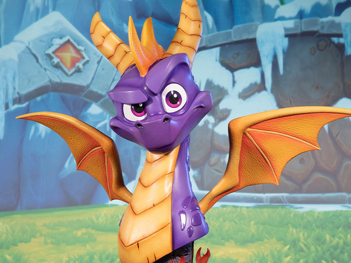 Spyro Reignited Trilogy Life Size Spyro Bust