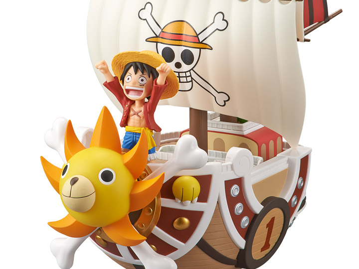 Banpresto One Piece Thousand Sunny Mega World Collectable  Figure Japan USA