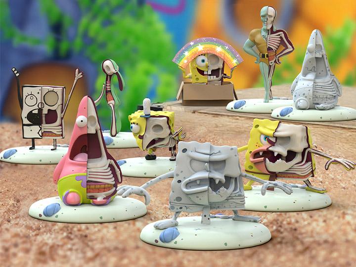 Anime Source Spongebob Squarepants Character Cartoon Series Commemorative Novelty Million Bill with Semi-Rigid Bill Protector