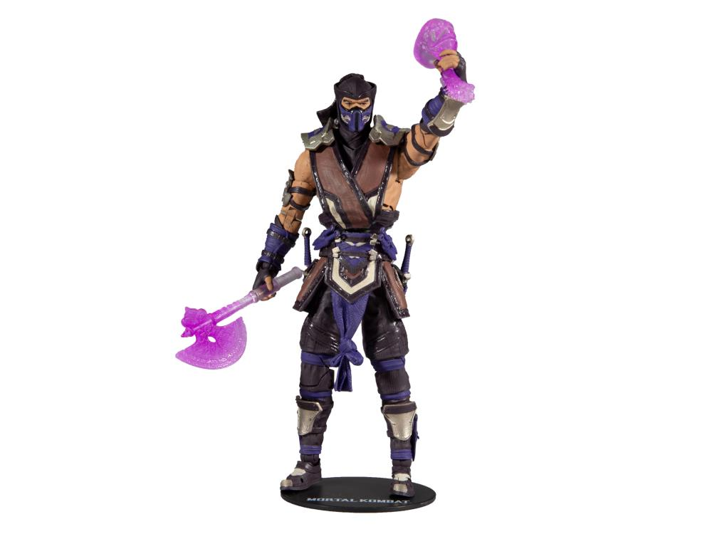 Mortal Kombat XI Sub-Zero (Winter Purple) Action Figure Gallery Image 2