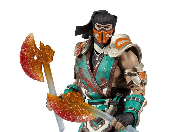 Mortal Kombat Xi Sub Zero Bloody Frozen Over Ver Action Figure