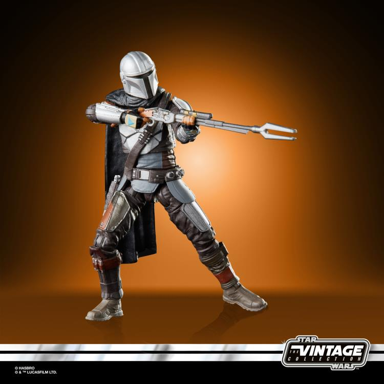 Star Wars: The Vintage Collection The Mandalorian (Beskar Armor) Gallery Image 2