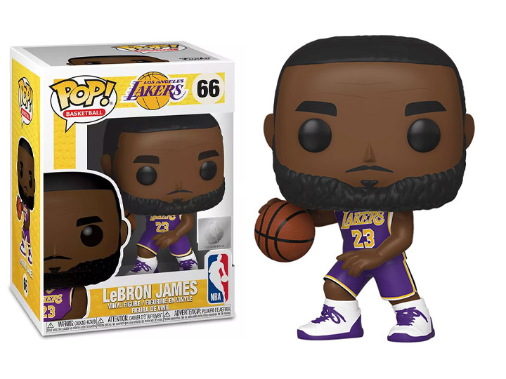 Pop! NBA: Lakers - LeBron James (Purple Jersey)